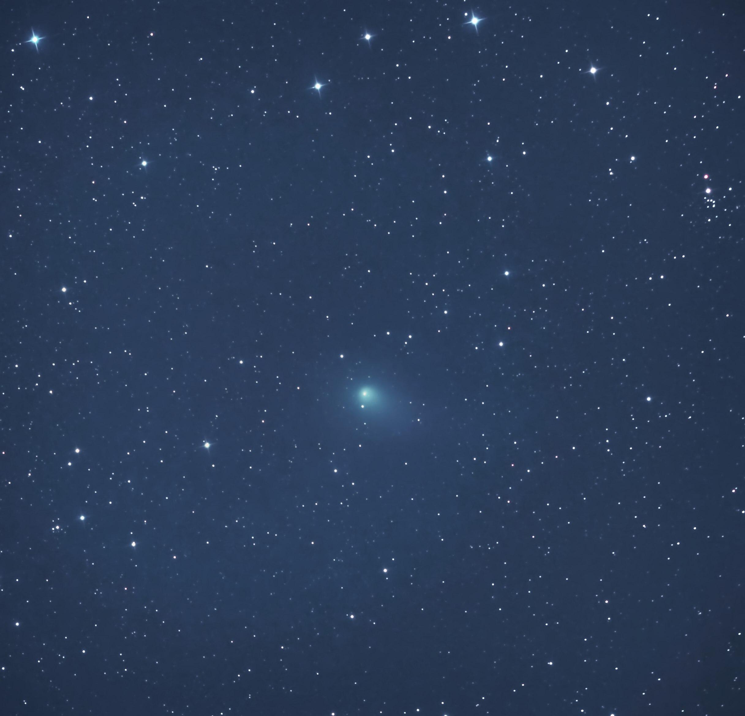 Der Komet PANSTARRS C/2017 T2